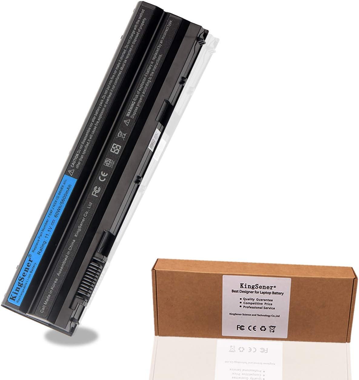 KingSener T54FJ Laptop Battery for Dell Latitude E6420 E6430 E6520 E6530 E5420 E5430 E5520 E5530 N3X1D 11.1V 60WH