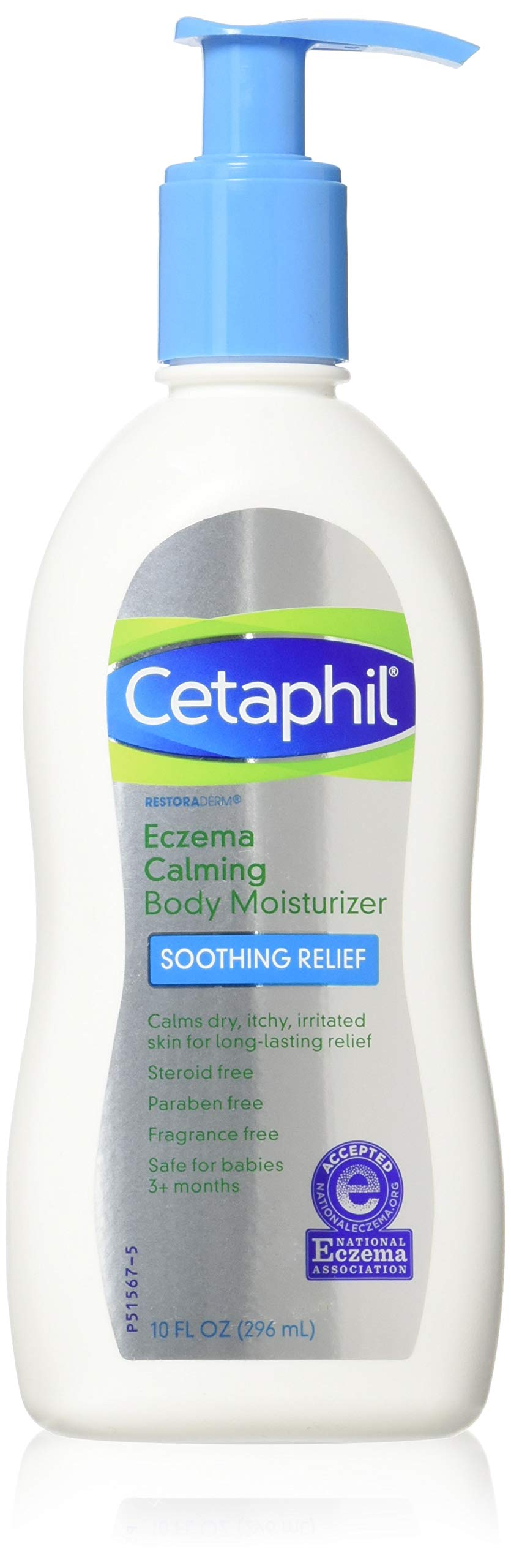 Cetaphil Restoraderm Gentle Body Moisturizer 10 Ounces (Pack of 3)
