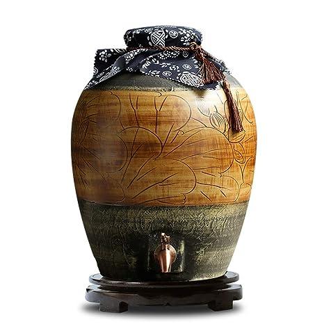 WMM-Barrels Frasco de cerámica Botella de Vino de la ...