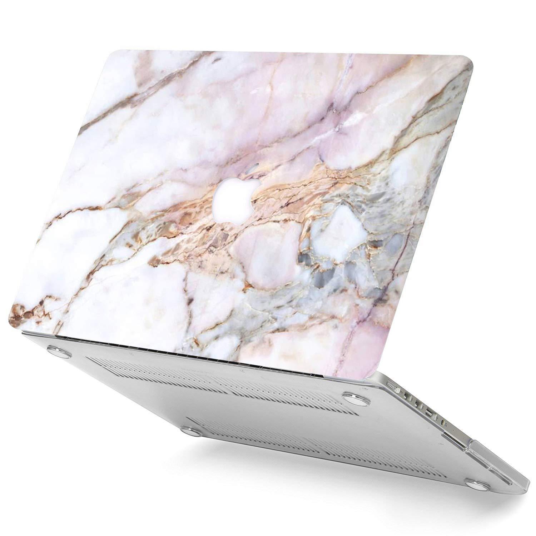 AQYLQ MacBook Pro 13 Pulgadas Funda A1278 Funda Protectora Recubrimiento Caucho Esmerilado para MacBook Pro 13con CD-ROM Dali patr/ón LDL18 versi/ón 2012-2008, sin Retina