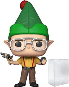 Pop! TV: The Office - Dwight Schrute as Elf Pop! Vinyl Figure (Includes Compatible Pop Box Protector Case)