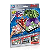 Crayola Color Alive 2.0, Marvel Avengers Coloring Page