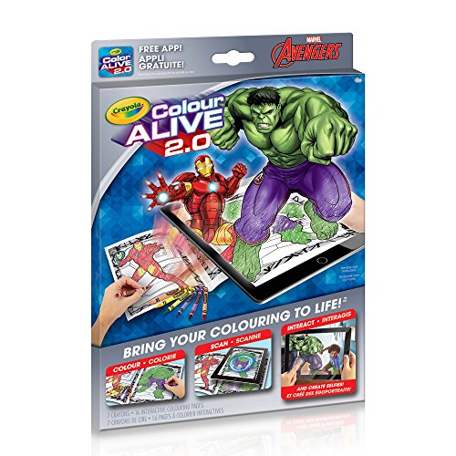 Crayola Colour Alive 2.0 The Avengers]()
