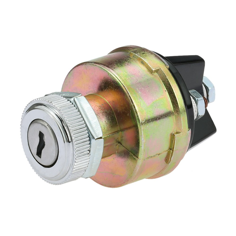 KKmoon Universal Ignition Switch with 2 Keys for Car Tractor Trailer