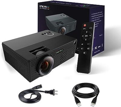 Proyector de vídeo | 2400 lúmenes Proyector de vídeo en casa ...