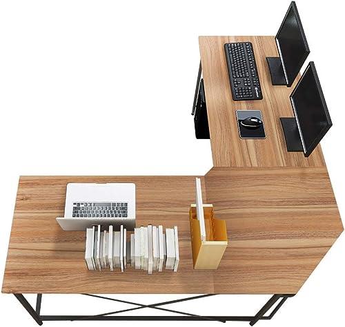 sogesfurniture Large L-Shaped Desk 59 x 59 inches Corner Table Computer Desk Workstation Desk PC Laptop Office Desk L Desk