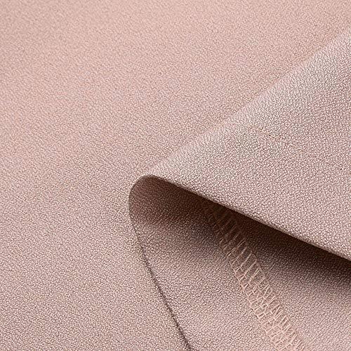 Blazer Femme Veste Longues Cardigan Unie Manches Rose de Manteau Travail Couleur Bringbring Costume r1raCq5wH