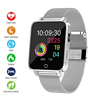 Smartwatch, Kivors Bluetooth SmartWatch IP68 Impermeable Relojes ...