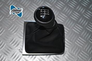 6 Original Gear Knob Leather Gear Shift Knob For Vw Passat B7 Cc 3aa 3aa711113 F Auto