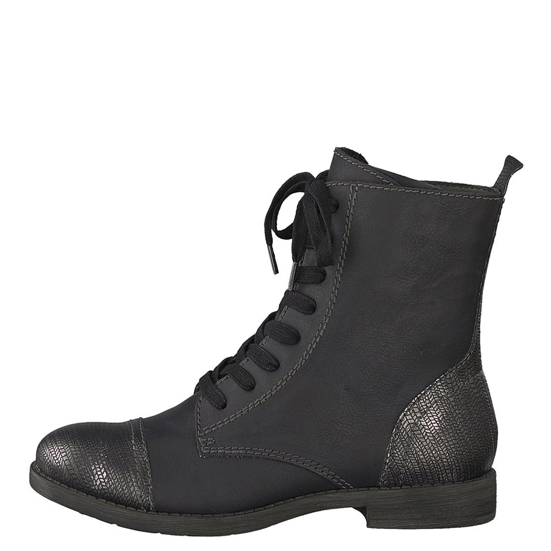 Tamaris 1-1-25576-29/001, Bottes pour Femme - noir - noir,