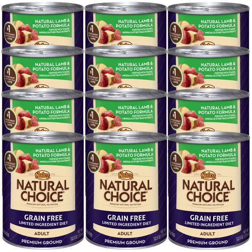 Natural Choice Grain Free Adult Natural Lamb and Potato Formula Cans, 12.5-Ounce