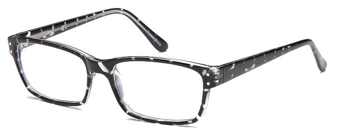 Amazon.com: Womens Spotted Prescription Eyeglasses Frames Size 54-17 ...