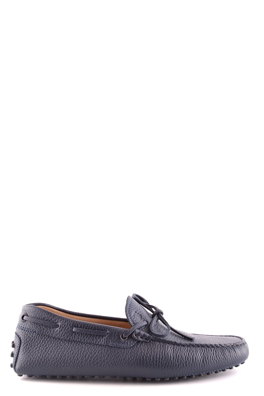 Men's MCBI293134O Blue Leather Loafers