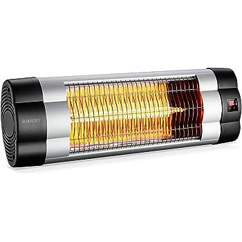 Amazon Com Sundate Halogen Patio Heater Indoor Outdoor