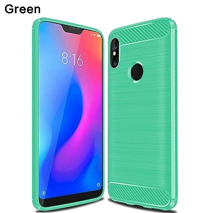 big sale 63a5c 2b465 Amazon.com: Torubia Xiaomi Mi A2 Lite Case, Grip Cover case ...