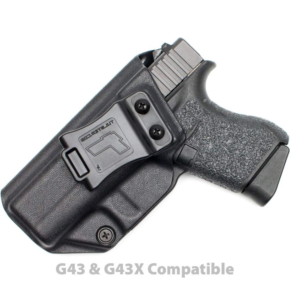 Tulster Glock 43/43X Holster IWB Profile Holster (Black - Left Hand)