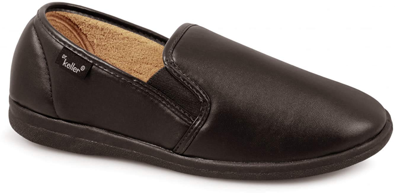 Dr Keller Mens Faux Leather Look Twin