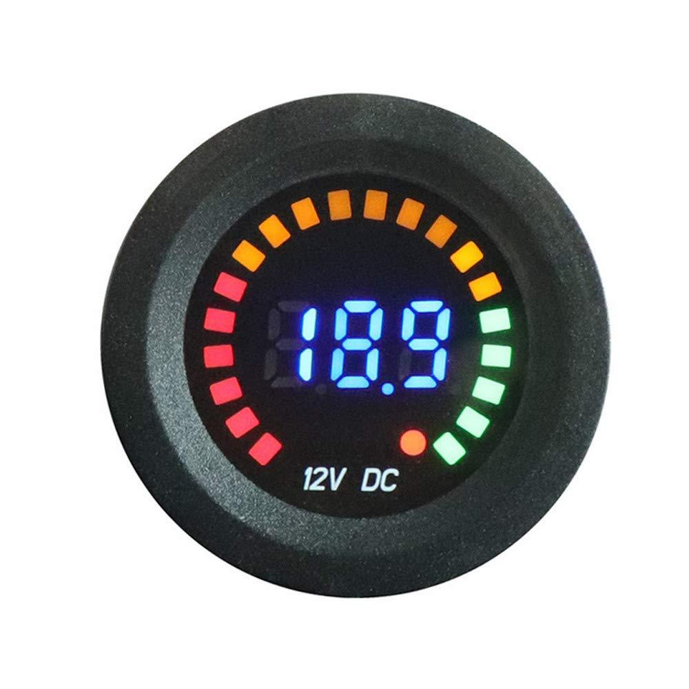 Ugood Waterproof 12V LED Car Van Boat Marine Voltmeter Voltage Meter Battery Gauge USA Ugood_car voltmeter
