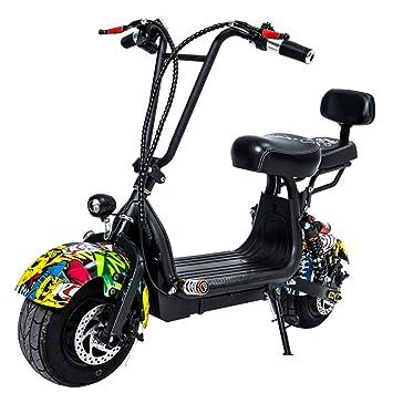 Amazon.com: Scooter eléctrico para adultos, neumático de ...