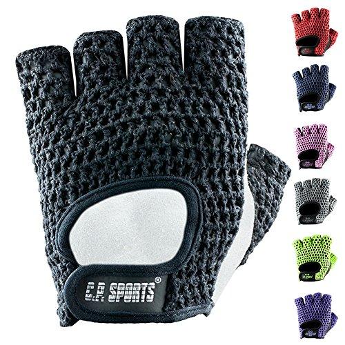C.P. Sports Fitness-Handschuh Klassik - farbig L/9 = 20-22cm rot