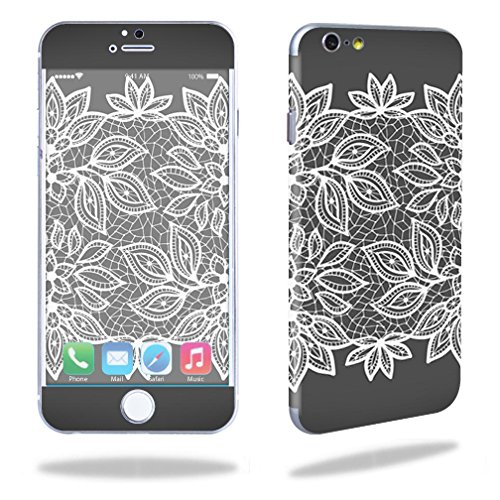 """Mightyskins Protective Vinyl Skin Decal Cover for Apple iPhone 6 Cell Phone 4.7"""" Cover wrap sticker skins Floral Lace"""