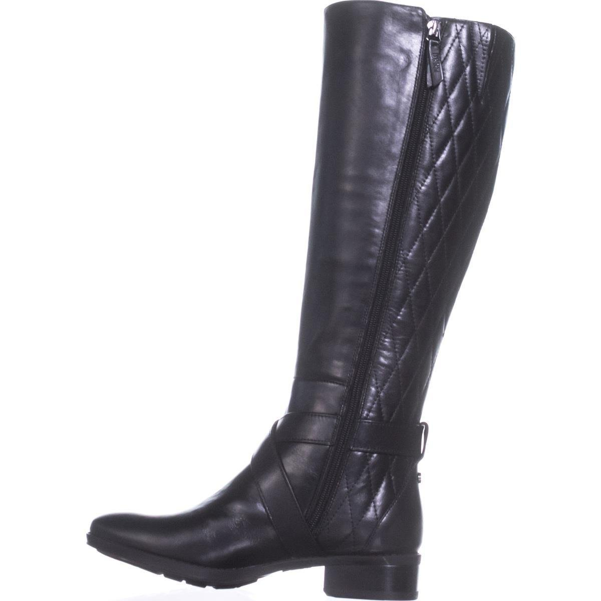 DKNY Frauen Mattie Pumps Rund Leder Leder Leder Fashion Stiefel f0e803