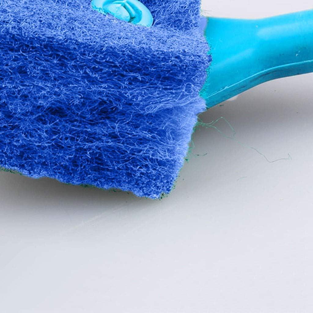 Haokaini Acuario Pecera Esponja Depurador Limpiador Algas Cepillo de Limpieza para Acuarios de Vidrio Y Cocina Casera