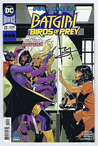 Batgirl & the Birds of Prey #20 NM- Signed w/COA Terry Dodson 2018 DC Comics ()