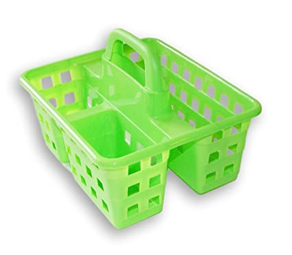 Amazon.com: Small Utility Shower Caddy Tote - Green: Home & Kitchen
