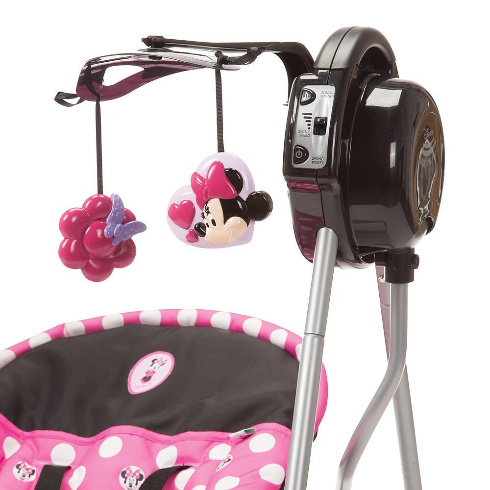 Amazon Minnie Dot Baby Musical Swing