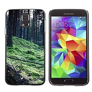 Be Good Phone Accessory // Dura Cáscara cubierta Protectora Caso Carcasa Funda de Protección para Samsung Galaxy S5 SM-G900 // Plant Nature Forrest Flower 56