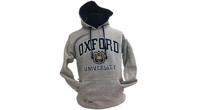 Oxford University Applique - Sudadera con Capucha Unisex: Amazon.es: Ropa y accesorios