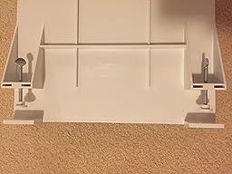 Amazon Com Bunk Buddy Bedside Shelf Ice Clear Kitchen