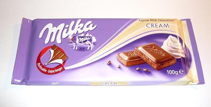 Chocolate cremoso extra Milka | Chocolate Extra Cremoso | 100gr / 3.5oz