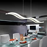 Suspension,Lustre LED,Create For Life®Suspension LED,Moderne LED Lustre, Suspendus Luminaire Plafond led Lampe,6000k (blanc froid)