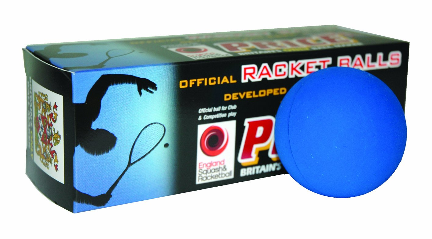 Ransome Racket - Pelota de racketball, color azul 2304/3