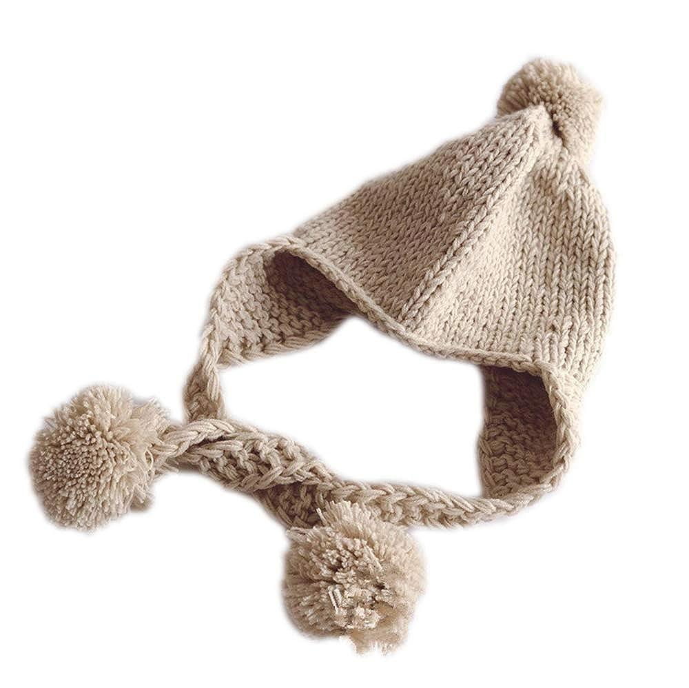 Kewing Sombrero De Bebé De Punto Orejeras Polar Caliente Niño Niña ...