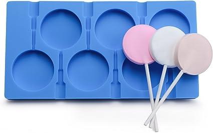 50 Blue Sticks For Lollipop and pop cake