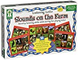 Listening Lotto: Sounds on the Farm Educational Board Game