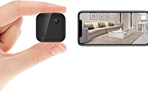 1080P Hidden Camera for Home Security Mini Spy Camera WiFi with Audio Live Feed,Nanny Cam Wireless with Cell Phone App Night Vision Motion Detection Remote Monitor