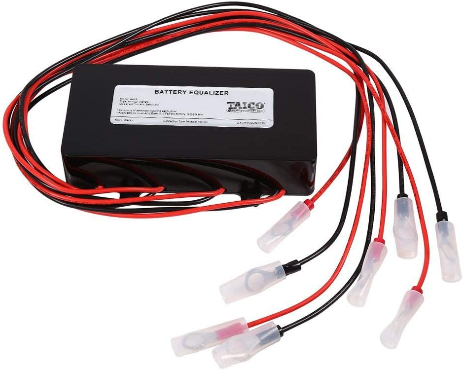 FTVOGUE batería Equalizer equilibrador Sistema Solar 48V para baterías de Plomo Balancer Cargador para Gel inondazione AGM batería Plomo