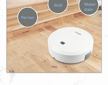 Aspirador doméstico Robot, carga USB Mini robot inteligente ...