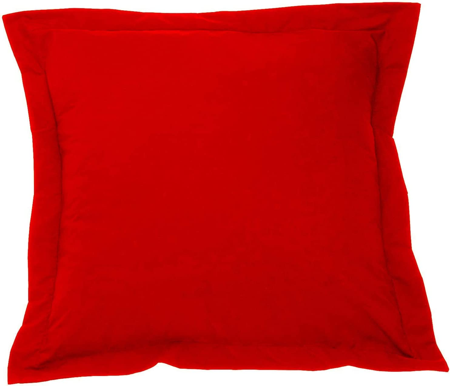 Amazon Com European Square Pillow Shams Set Of 2 Pillowcase Euro Shams 26x26 Red Pillow Covers Premium 550 Thread Count European Pillow Shams 100 Egyptian Cotton Gorgeous Euro Size Decorative Pillow Cover Cases Home