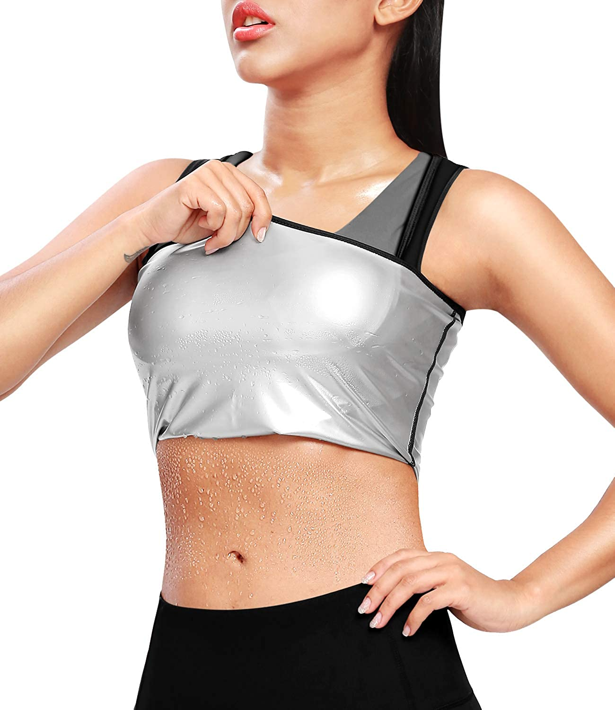 Sweat Body Shaper Vest Men Women Fitness Advanced Sweatwear Suit Weight Loss