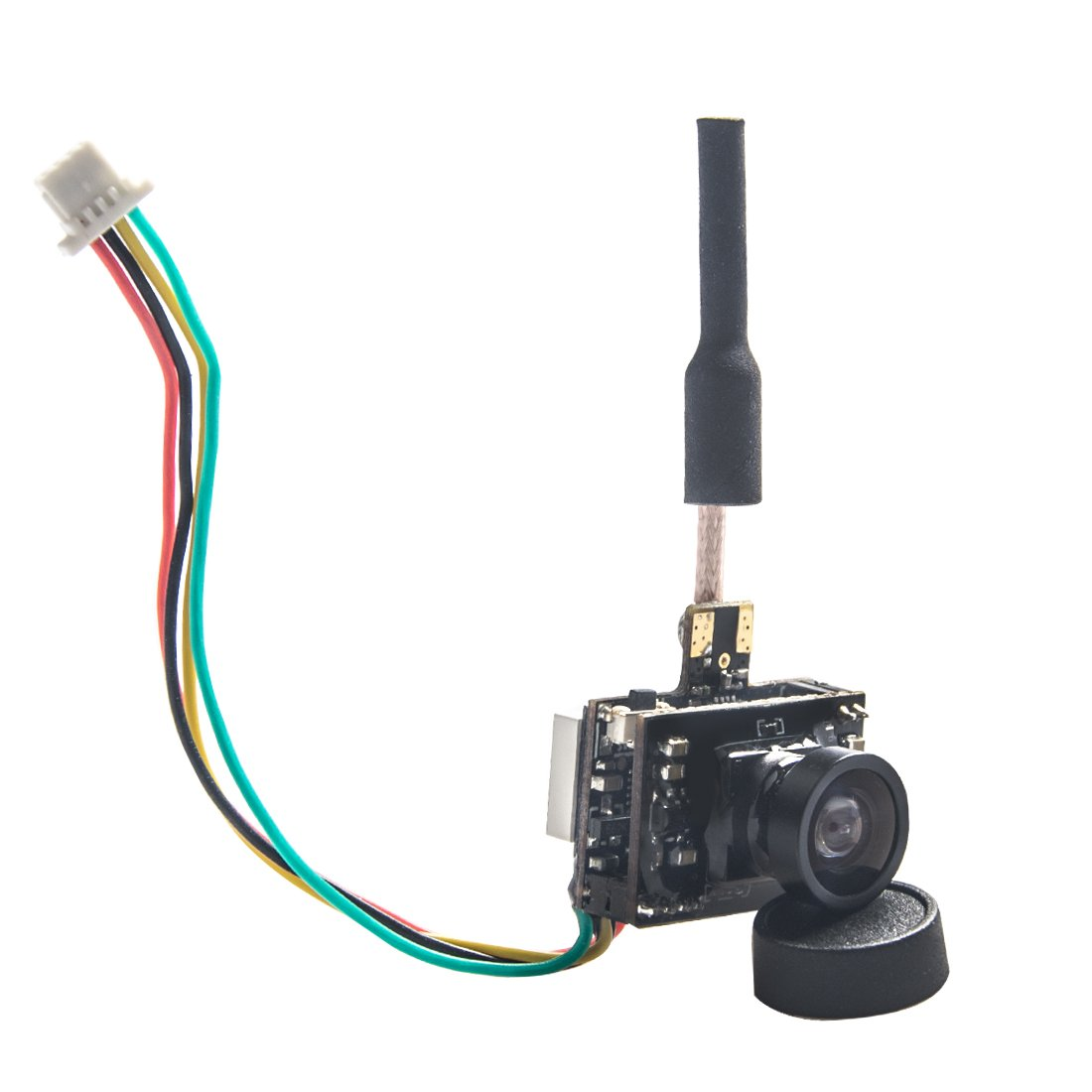 Transmisor Wolfwhoop P-1 Micro 5.8ghz 25mw / 50mw / 200mw Fpv Y Camara 600tvl Aio Con Interfaz Osd Para Fpv Quadcopter D
