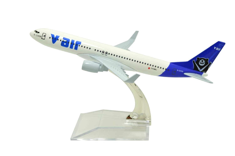 最新入荷 Tang-Dynasty(TM 1:400 16cm 飛行機モデル ボーイング 16cm B737 V AIR 金属飛行機モデル 飛行機玩具 1:400 飛行機モデル B07K42DBK6, ごっつプライス:15e1b178 --- wap.milksoft.com.br