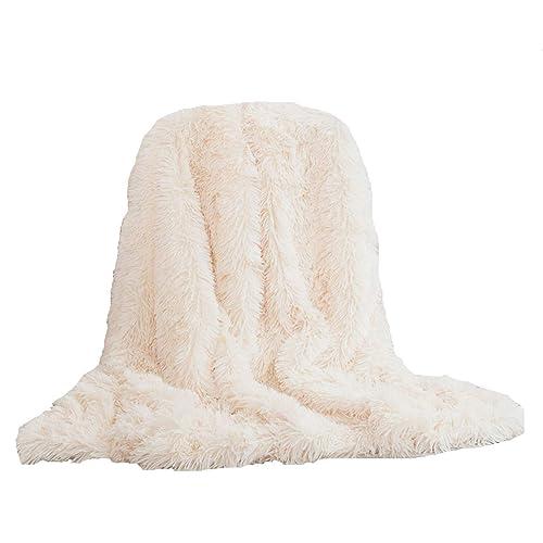 White Fluffy Throw Amazoncouk Inspiration White Fluffy Throw Blanket