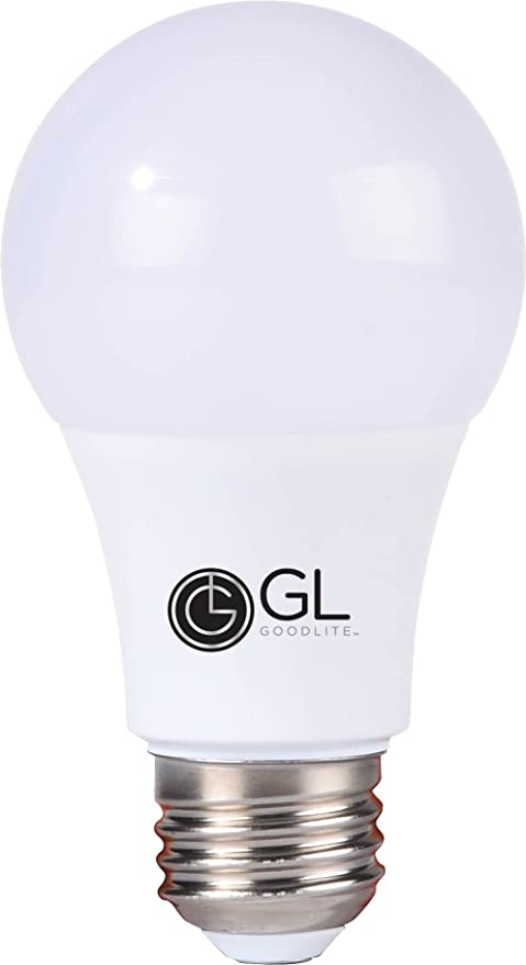 Goodlite G-83442 G-83342 14w=100W Equivalent A19 Super White 5000K Dimmable LED Light Bulb Omni Directional 300 Degree - - Amazon.com