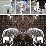 Pet Umbrella (Dog Umbrella) Keeps your Pet Dry and Comfortable in Rain