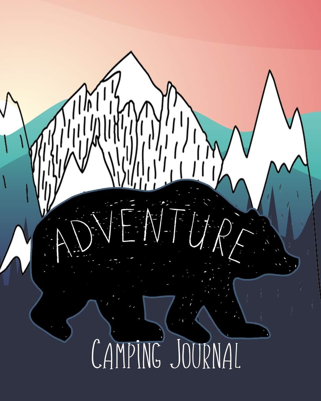 Adventure Camping Journal [Idioma Inglés]: Amazon.es ...